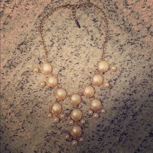 Jewelry - Light Rose Gold Bubble Necklace